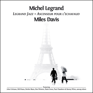 Diseño Gráfico Caratula CD Michel Legrand Miles Davis
