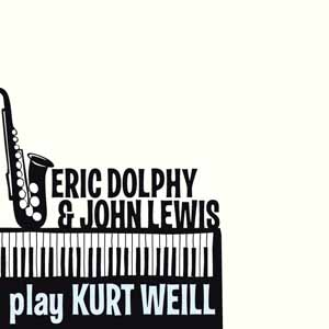 Diseño CD Jazz Eric Dolphy & John Lewis play Curt Weill