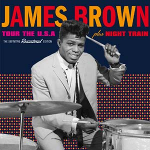 Diseño Portada CD James Brown Soul R&B