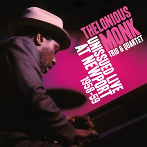 Diseño Portada CD Digipack Thelonious Monk at Newport