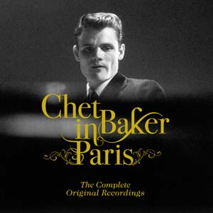 diseño Grafico Portada CD Jazz Chet Baker in Paris