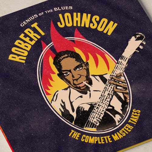 diseño portada disco LP blues Robert Johnson