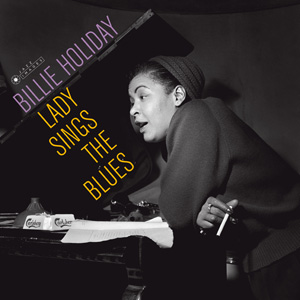 Diseño Portada LP Billie Holliday Lady Sings The Blues