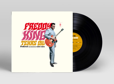 Freddy King portada disco lp vinilo mini