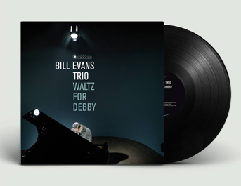 diseño portada artwork bill evans mini