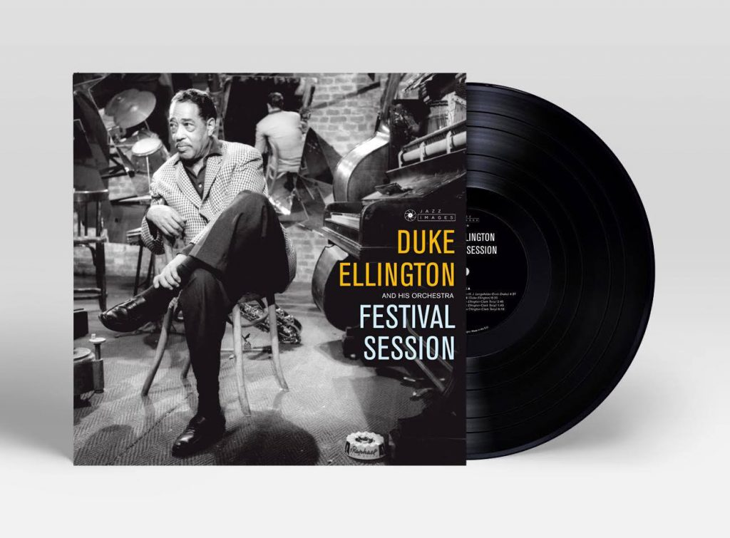 duke ellington album artwork diseño