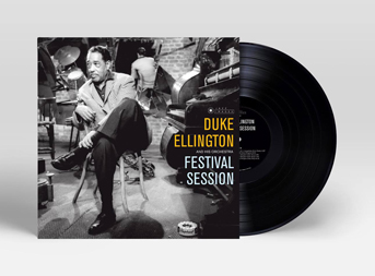 duke ellington album artwork diseño mini