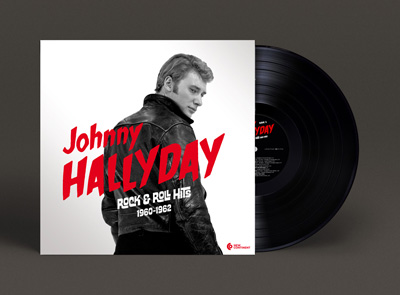 Johnny Hallyday LP artwork vinyl mini