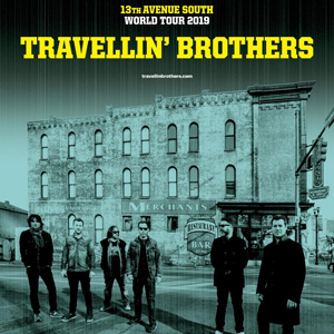 Poster Travellin Brothers m